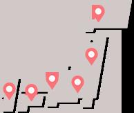日だまりショット全国店舗一覧MAP